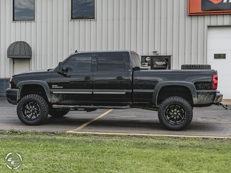 2007 Chevrolet Silverado 2500 Hd 20x12 Fuel Offroad Wheels