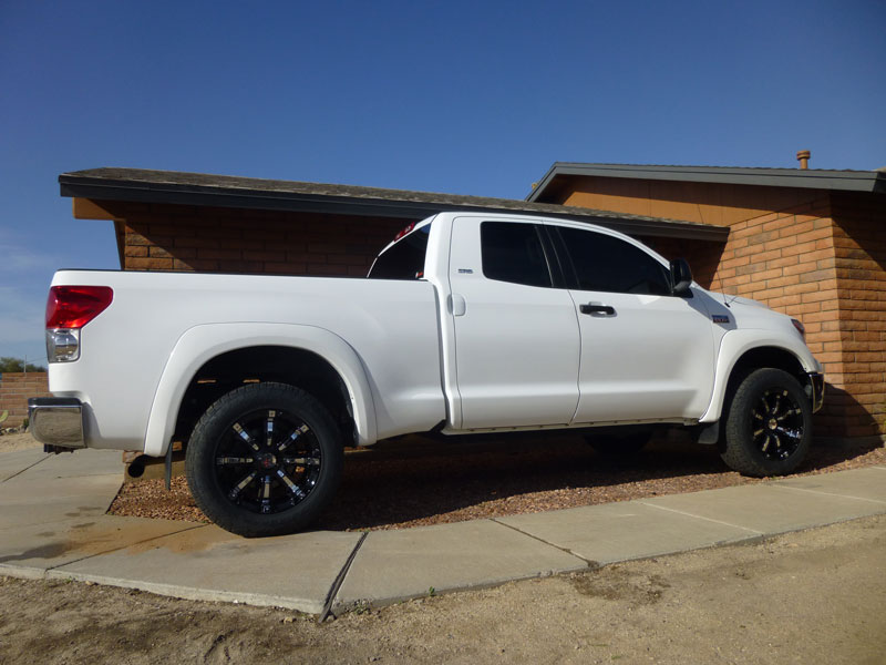 Toyota Tundra With Inch Leveling Kit Rbp R X By Offset Wheels Nitto Terra Grappler P Tires Pic on 2 Inch Body Lift Toyota Pickup