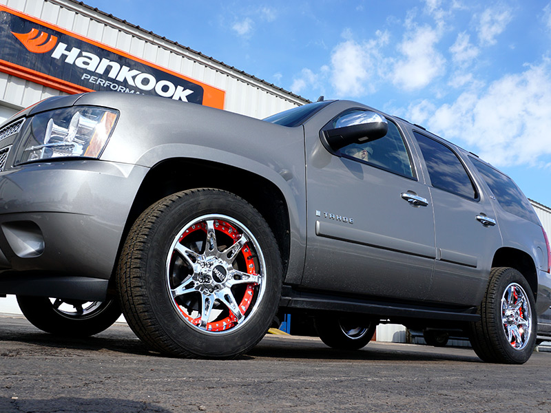 2008 Chevy Tahoe With Moto Metal Mo961 20x9 18 20 By 9 Inch Wide Wheels
