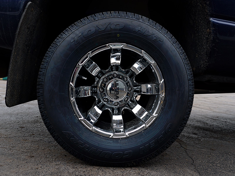 2008 Dodge Ram 3500 - Staggered Ultra Wheels 235/80R17 Toyo Tires