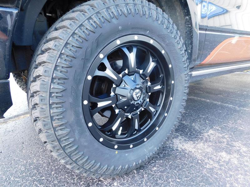 Fuel Wheels 20x9 >> 2008 Ford F-150 - 20x9 Fuel Offroad Wheels 35x12.5R20 ...