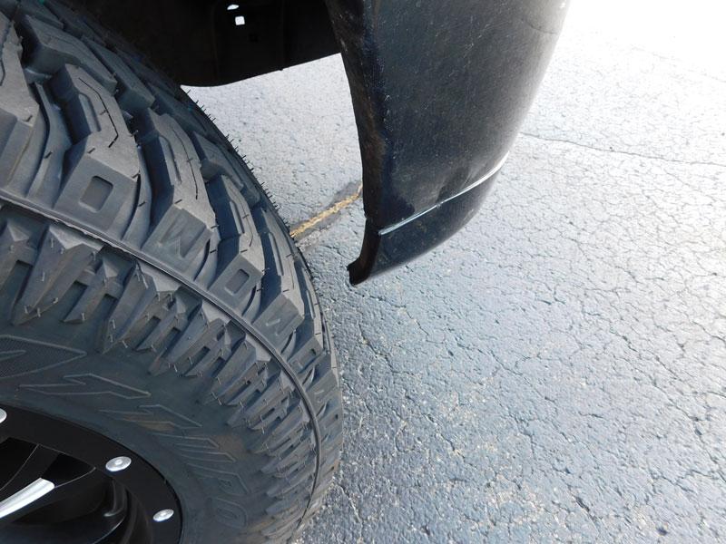 4 Inch Suspension Lift Kit >> 2008 Ford F-150 20x9 Fuel Offroad Atturo LT35x12.5R20
