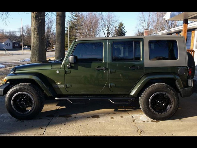 2008 Jeep Wrangler For Sale >> 2008 Jeep Wrangler - 18x9 Fuel Offroad Wheels