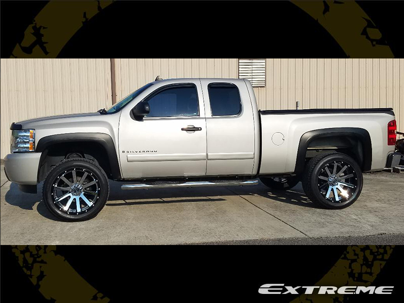 2008 Chevy Silverado Lifted >> 2008 Chevrolet Silverado 1500 22x10 Xd Series Wheels 305 45r22