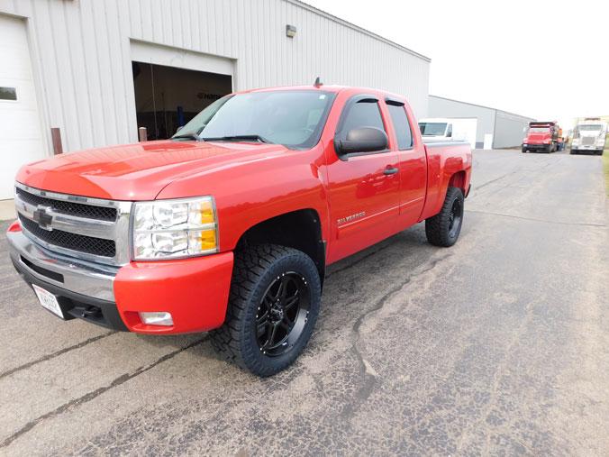 3 Inch Lift Kit For Chevy Silverado 1500 >> 2010 Chevrolet Silverado 1500 - 20x9 Hostile Wheels 285/55R20 Nitto Tires 3-inch suspension lift kit