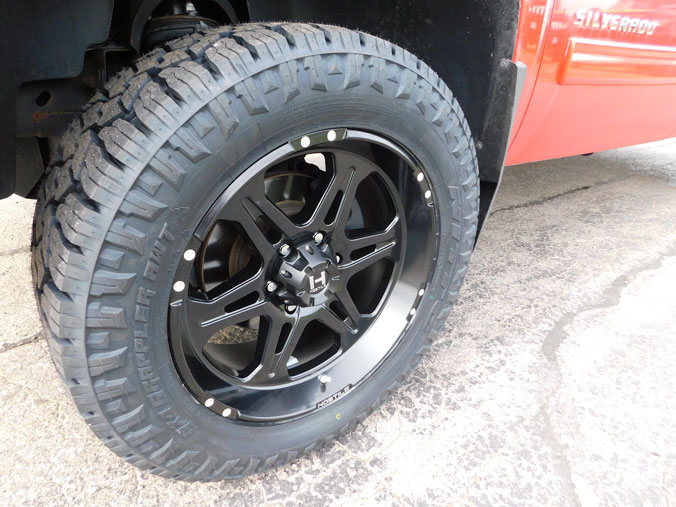 All Terrain Tires For Sale >> 2010 Chevrolet Silverado 1500 - 20x9 Hostile Wheels 285/55R20 Nitto Tires 3-inch suspension lift kit