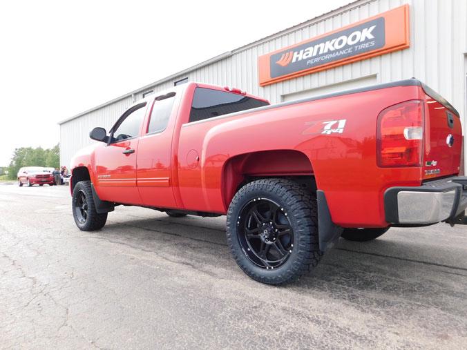 Nitto Exo Grappler >> 2010 Chevrolet Silverado 1500 - 20x9 Hostile Wheels 285/55R20 Nitto Tires 3-inch suspension lift kit