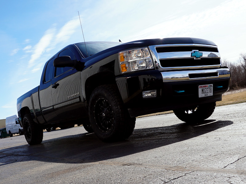 6 Inch Lift Kit For Chevy 1500 4wd >> 2010 Chevrolet Silverado 1500 18x9 Fuel Offroad Toyo LT285 ...