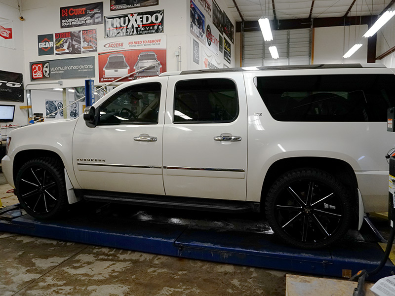 2010 Chevrolet Suburban 1500 - 24x9.5 Dub Wheels 285/40R24 ...