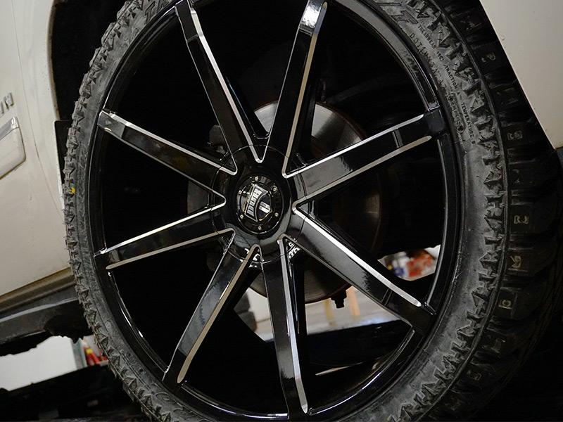 Wholesale Tires Free Shipping >> 2010 Chevrolet Suburban 1500 - 24x9.5 Dub Wheels 285/40R24 Atturo Tires