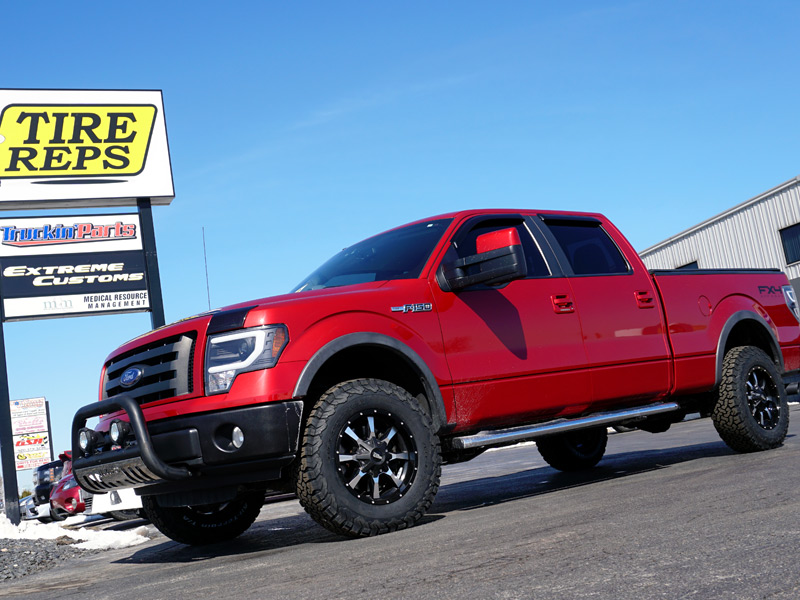 F150 Rims And Tires Package >> 2010 Ford F-150 - 18x9 Moto Metal Wheels 275/70R18 BFGoodrich Tires