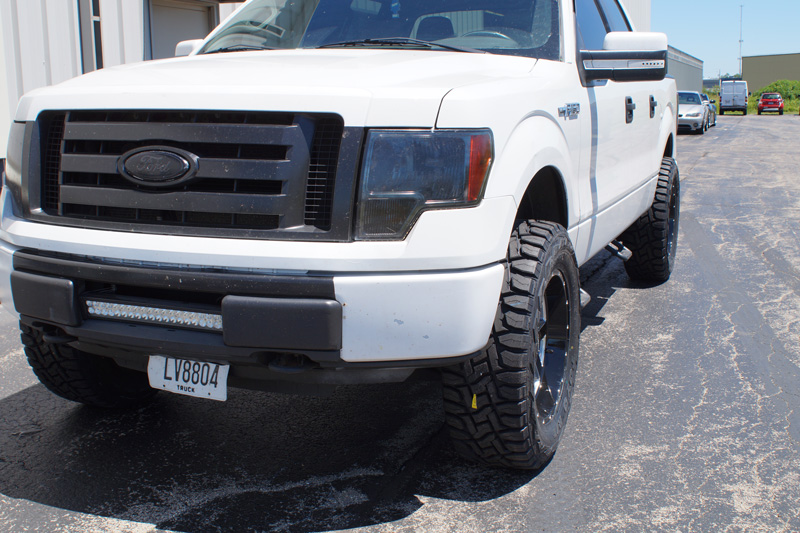Toyo Rt F150 >> 2010 Ford F-150 - 20x9 SOTA Offroad Wheels 35x12.5R20 Toyo Tires Rough Country 2.5-inch ...