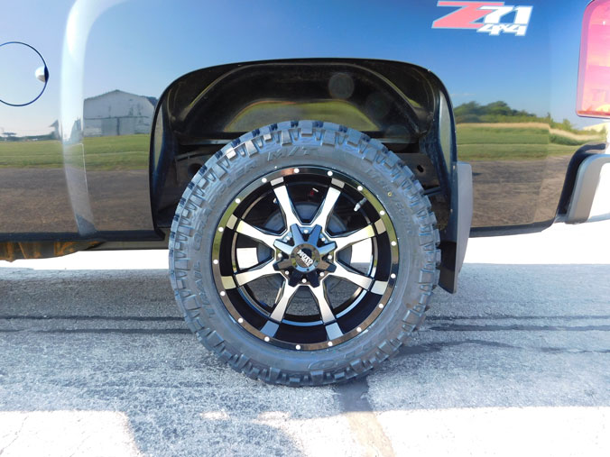 Nitto Terra Grappler Mt >> 2011 Chevrolet Silverado 1500 - 20x10 Moto Metal Wheels 285/55R20 Nitto Tires Rough Country 2 ...