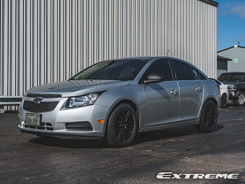 2011 Chevy Cruze Ruff Racing R367 17x7 5 +38 Offset 17 By 7 5 Inch Wide Wheel With Toyo Proxes 4 Plus 215 55r17 Tire