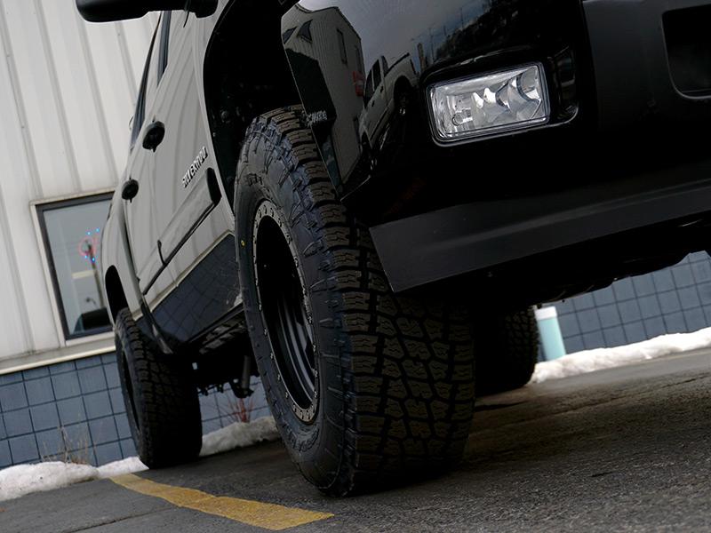 3 Inch Lift Kit For Chevy Silverado 1500 >> 2011 Chevrolet Silverado 1500 - 17x9 Eagle Alloy Wheels 285/70R17 Nitto Tires Rough Country 3.5 ...