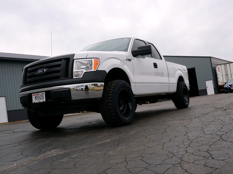 Ford F Inch Rough Country Leveling Kit Gear Alloy Drivetrain X  Offset