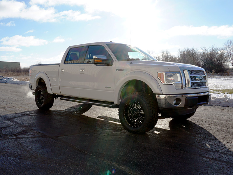 Custom White F150 >> 2011 Ford F-150 - 20x9 RBP Wheels 305/55R20 Nitto Tires Rough Country 4-inch Suspension Lift Kit