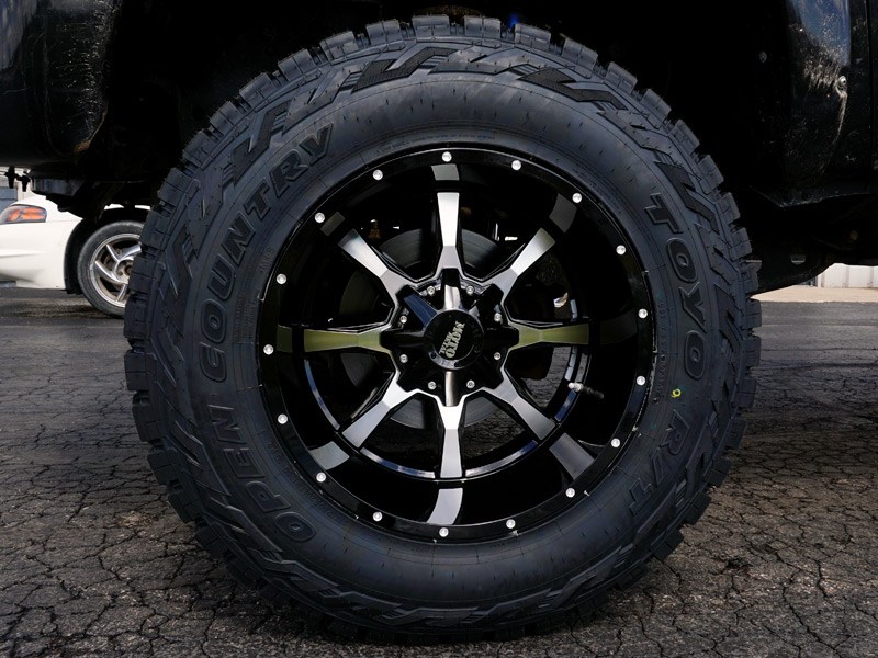 Wholesale Tires Free Shipping >> 2011 Ford F-250 Super Duty - 20x12 Moto Metal Wheels 37x12 ...