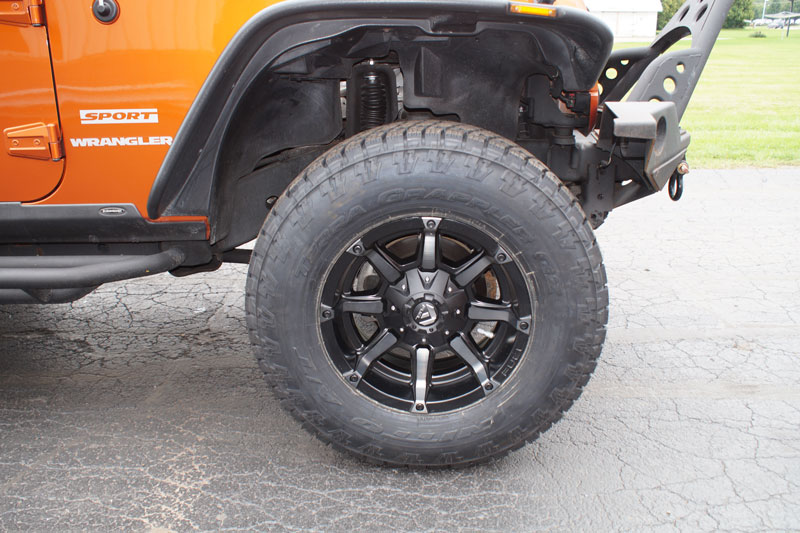 Jeep Wrangler Rims And Tire Packages >> 2011 Jeep Wrangler - 17x9 Fuel Offroad Wheels 295/70R17 ...