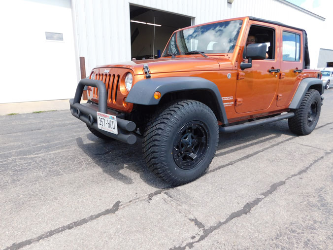 Jeep Wrangler Rims And Tire Packages >> 2011 Jeep Wrangler - 17x9 XD Series Wheels 285/70R17 ...