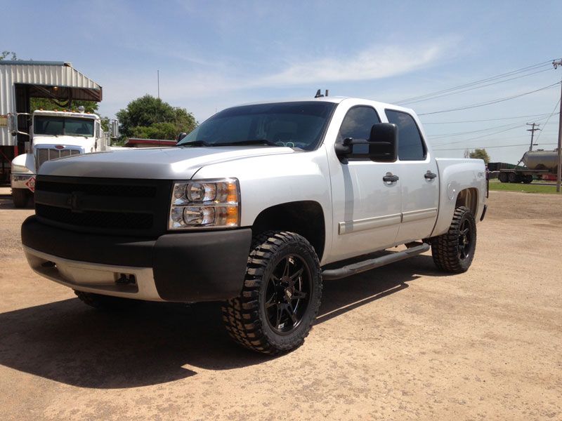 2012 Chevrolet Silverado 1500 - 20x9 Moto Metal Wheels ...