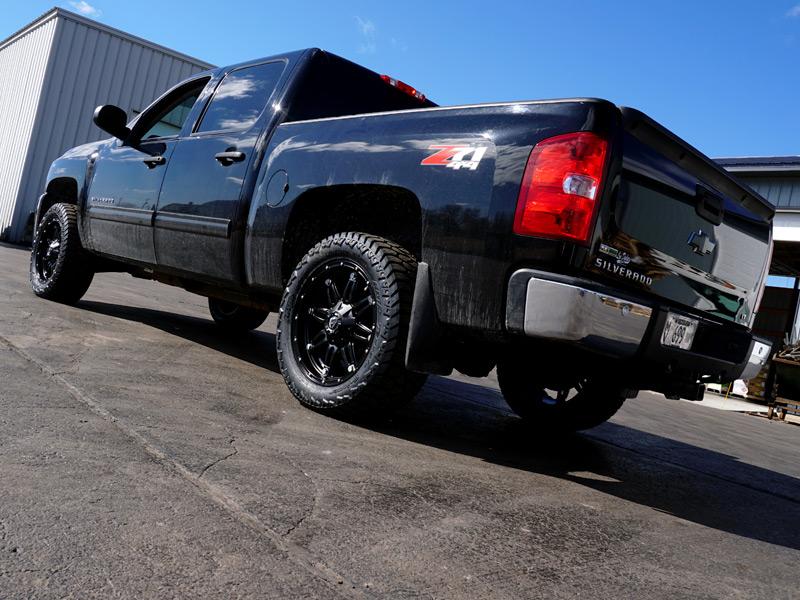2012 Chevrolet Silverado 1500 20x9 Fuel Offroad Amp Lt285