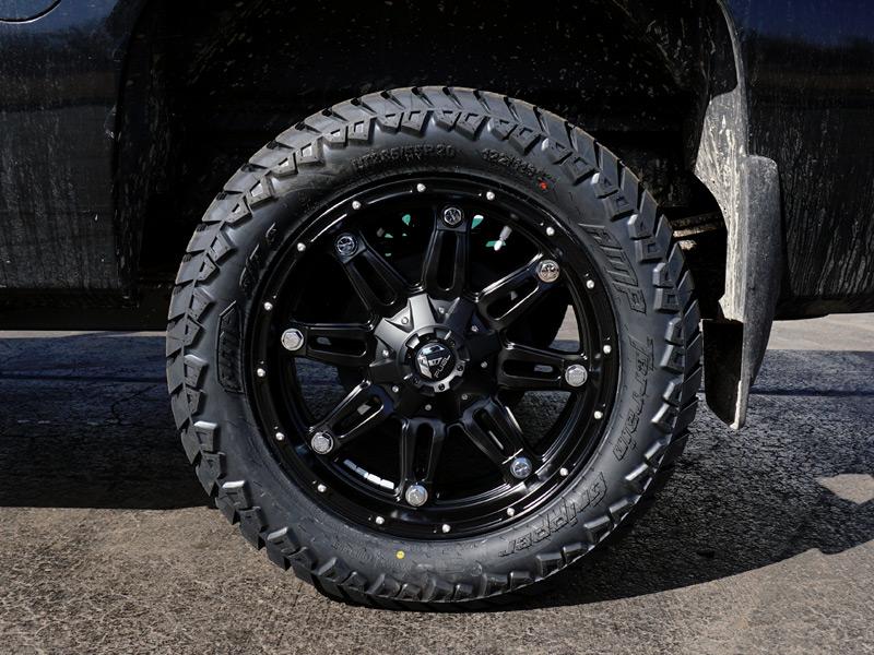 Discount Tire Store >> 2012 Chevrolet Silverado 1500 20x9 Fuel Offroad Amp LT285/55R20