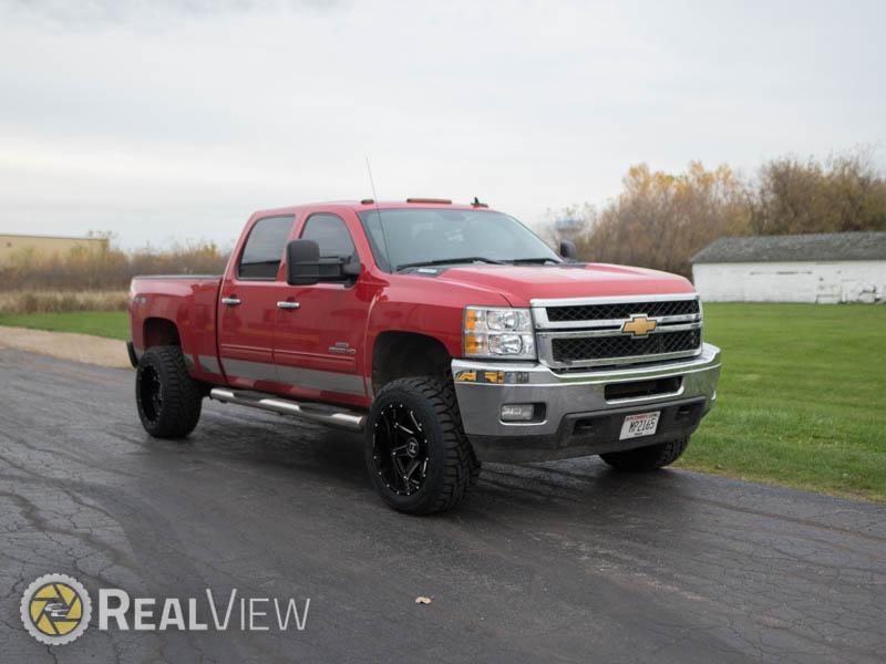 2012 Chevrolet Silverado 2500 HD - 20x12 Hostile Wheels ...