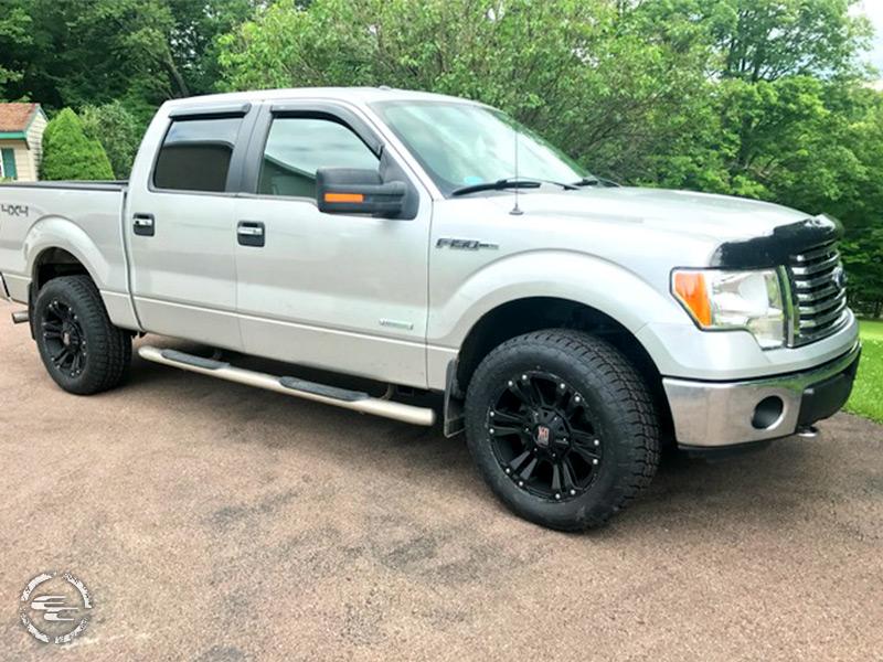 2012 Ford F 150 20x9 Xd Series Wheels 275 60r20 Nitto Tires