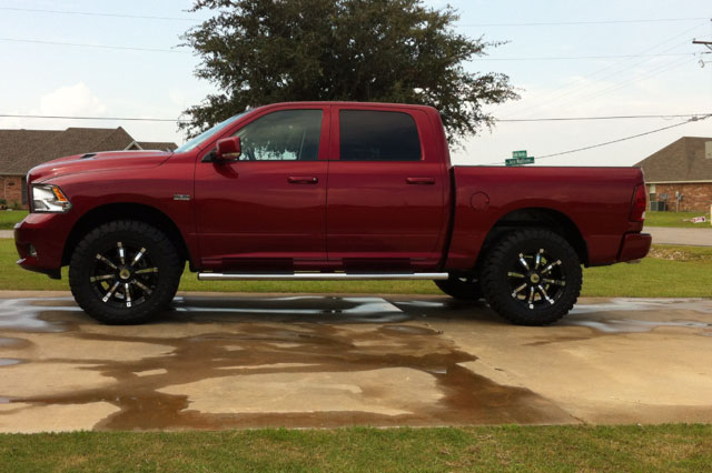 12 Inch Lift Kit >> 2012 Ram 1500 - 20x10 RBP Wheels 35x12.5R20 Toyo Tires Rough Country 6-inch Suspension Lift System