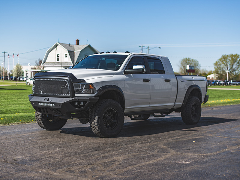 2012 Ram 2500 - 20x9 XD Series Wheels 35x12.5R20 Toyo Tires Rough Country 2-inch Suspension ...