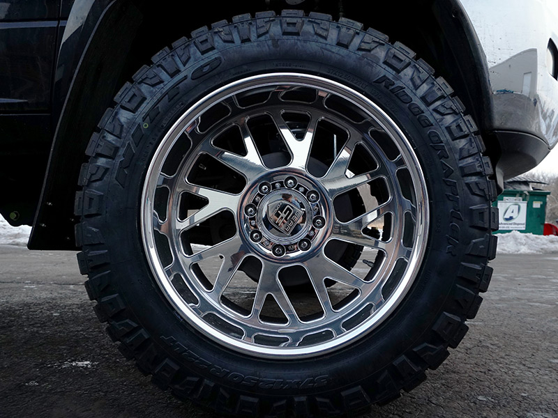 Fox Body Wheels >> 2012 Ram 3500 - Directional Gear Alloy Forged Wheels 37x12.5R22 Nitto Tires BDS 6-inch ...