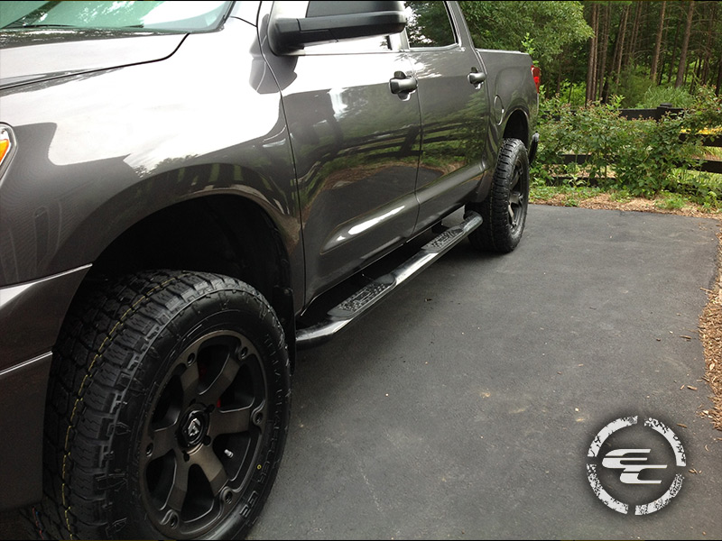How To Apply Window Tint >> 2012 Toyota Tundra - 20x9 Fuel Offroad Wheels 305/55R20 Nitto Tires OME 2-inch leveling lift kit
