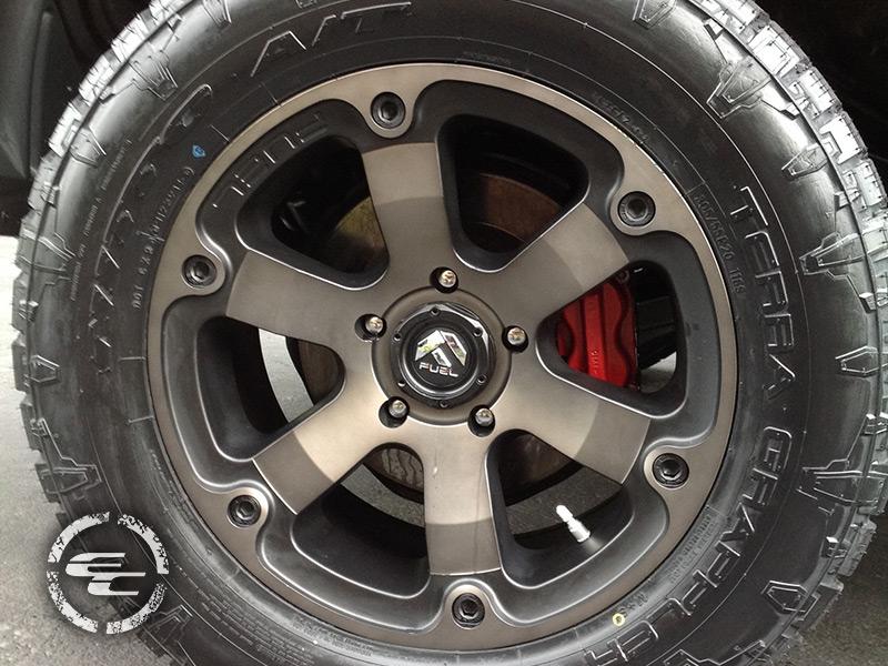 2012 Toyota Tundra 20x9 Fuel Offroad Wheels 305 55r20