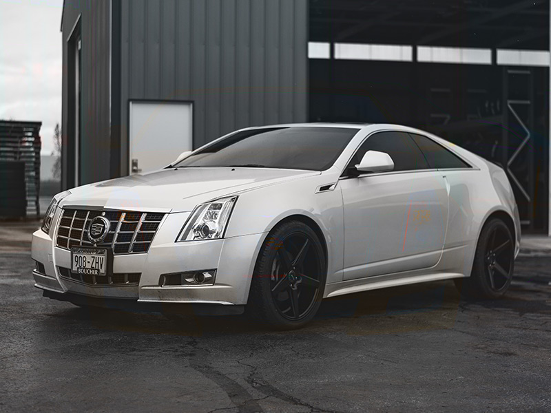 Front Window Tint >> 2013 Cadillac CTS - Staggered KMC Wheels 245/40ZR20 Toyo Tires