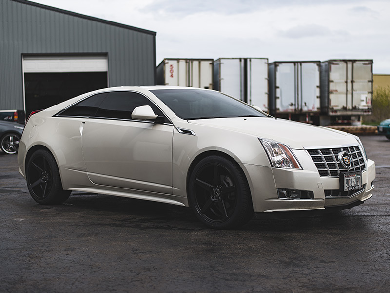 2013 Cadillac Cts Staggered Kmc Wheels 245 40zr20 Toyo Tires
