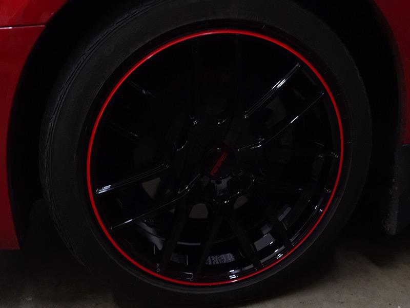 2013 Dodge Charger 20x8 5 Touren Wheels