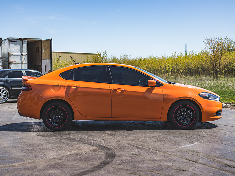 Dodge Dart Tire Size >> 2013 Dodge Dart 17x7 Maxxim Wheels 225 45zr17 Ironman Tires