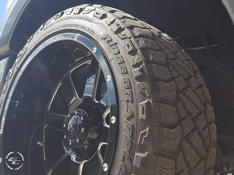 2013 Ford F 150 22x12 Gear Alloy Wheels 33x12 5r22 Nitto