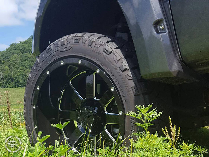 2013 F150 Tires >> 2013 Ford F-150 - 22x12 Gear Alloy Wheels 33x12.5R22 Nitto Tires Rough Country 4-inch Suspension ...