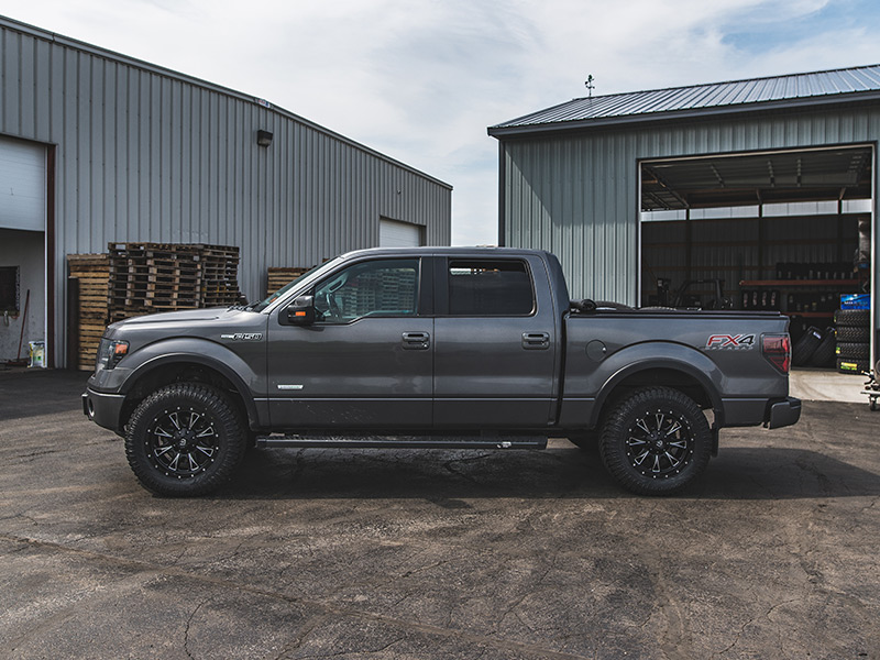 Ford F  With Leveling Kit Fuel Offroad Throttle X  By