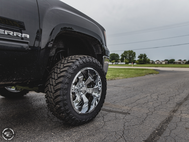 6 Inch Lift Kit For Chevy 1500 4wd >> 2013 GMC Sierra 1500 20x10 Hostile Atturo LT33x12.5R20
