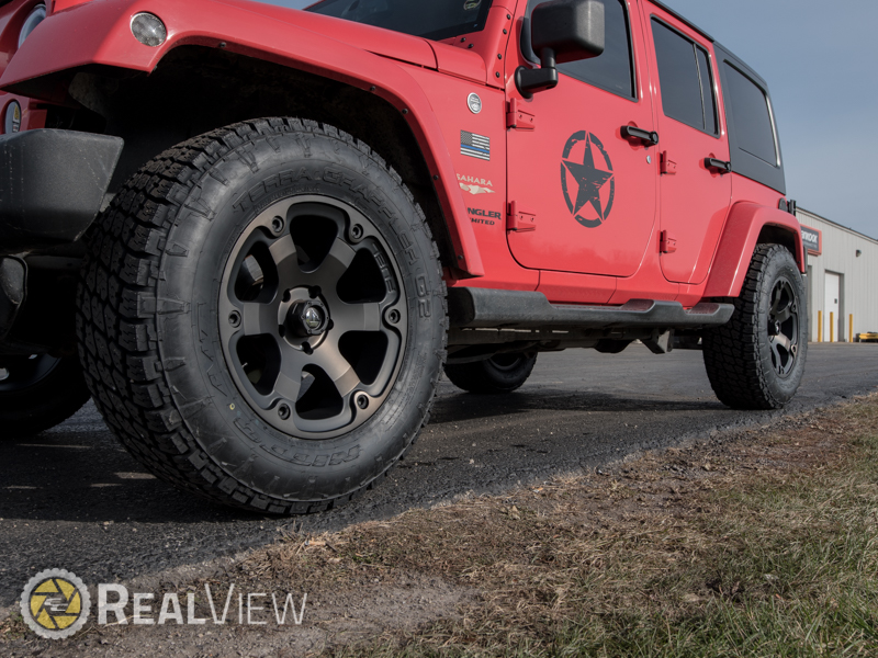 2013 Jeep Wrangler 18x9 Fuel Offroad Wheels 285 65r18 Nitto Tires