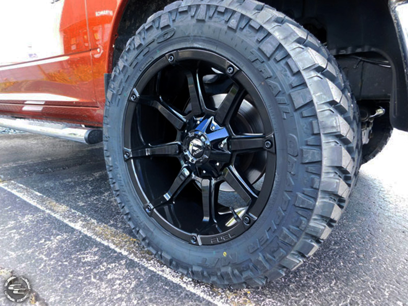 4 Inch Lift Kit For Dodge Ram 1500 4wd >> 2013 Ram 1500 - 20x10 Fuel Offroad Wheels 295/55R20 Nitto ...