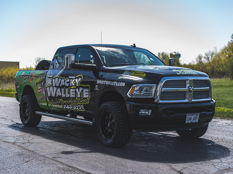 Ram Rolling Big Power R X Offset By Inch Wide Wheel Toyo Open Country Rt X R Tire Pic