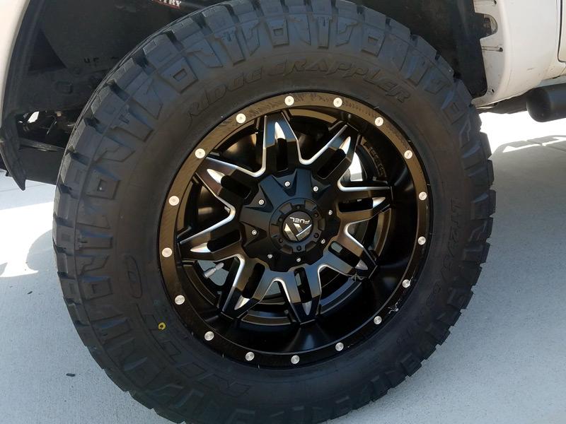 2013 toyota tacoma 18x9 fuel offroad nitto lt275 65r18 - 2013 toyota tacoma interior accessories ...