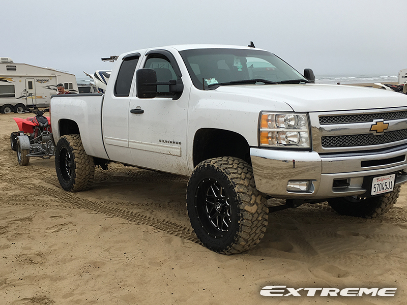 6 Inch Lift Kit For Chevy 1500 4wd >> 2013 Chevrolet Silverado 1500 - 20x10 Hostile Wheels 35x12.5R20 Nitto Tires Rough Country 6-inch ...