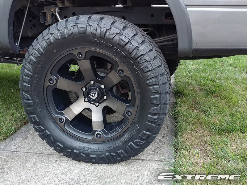fuel wheels ford lift country rough nitto fx4 35x12 20x9 beast f150 ridge grappler inch kit d564 tires
