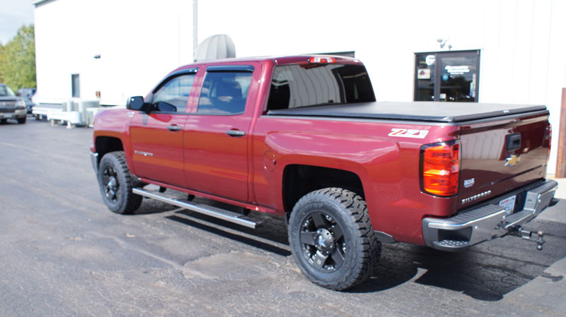 Chevrolet Silverado With Inch Lift Xd Series Rockstar X By Offset Wheels Toyo Open Country Rt Tires Pic