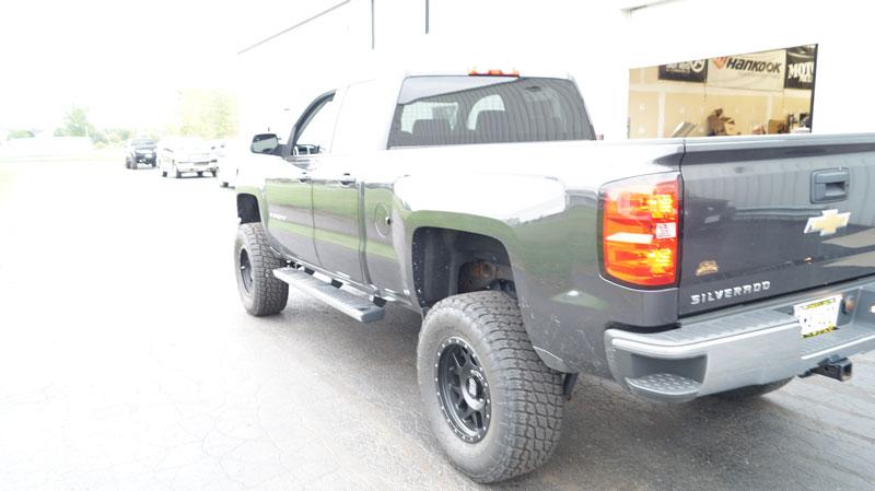 6 Inch Lift Kit For Chevy Silverado 1500 >> 2014 Chevrolet Silverado 1500 - 18x9 XD Series Wheels ...